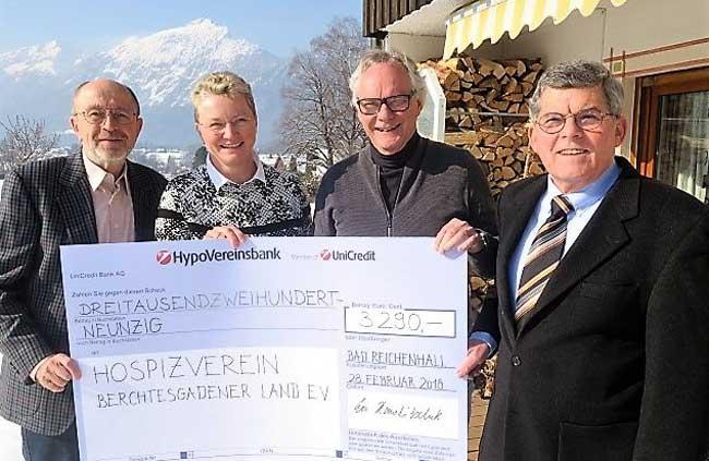 Lions unterstützt Hospizverein BGL