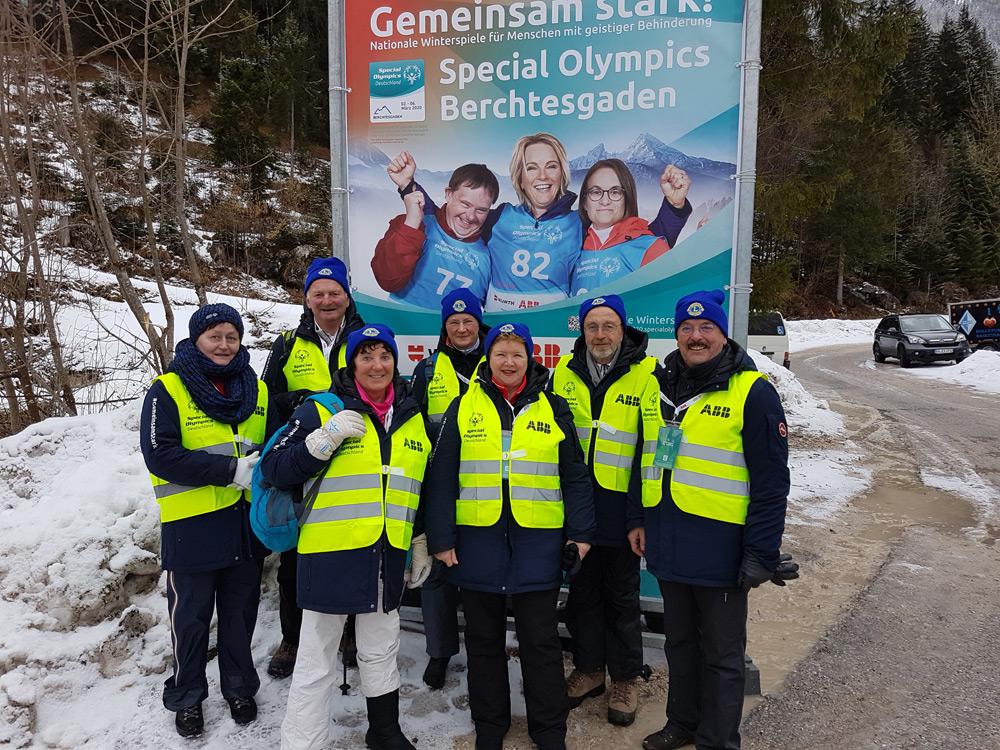 """Lions helfen bei den """"National Special Olympics"""" in Berchtesgaden"""