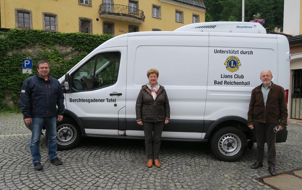 Die Tafel Berchtesgaden wird ebenfalls finanziell unterstützt