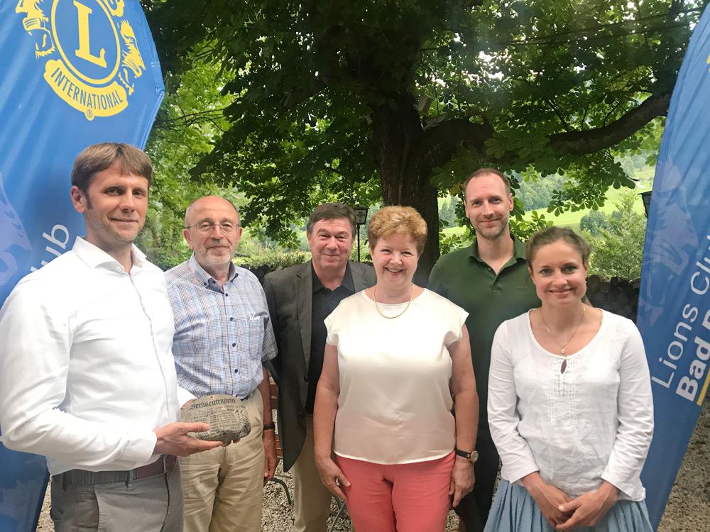 Oliver Kowald erneut Präsident des Lions Club Bad Reichenhall